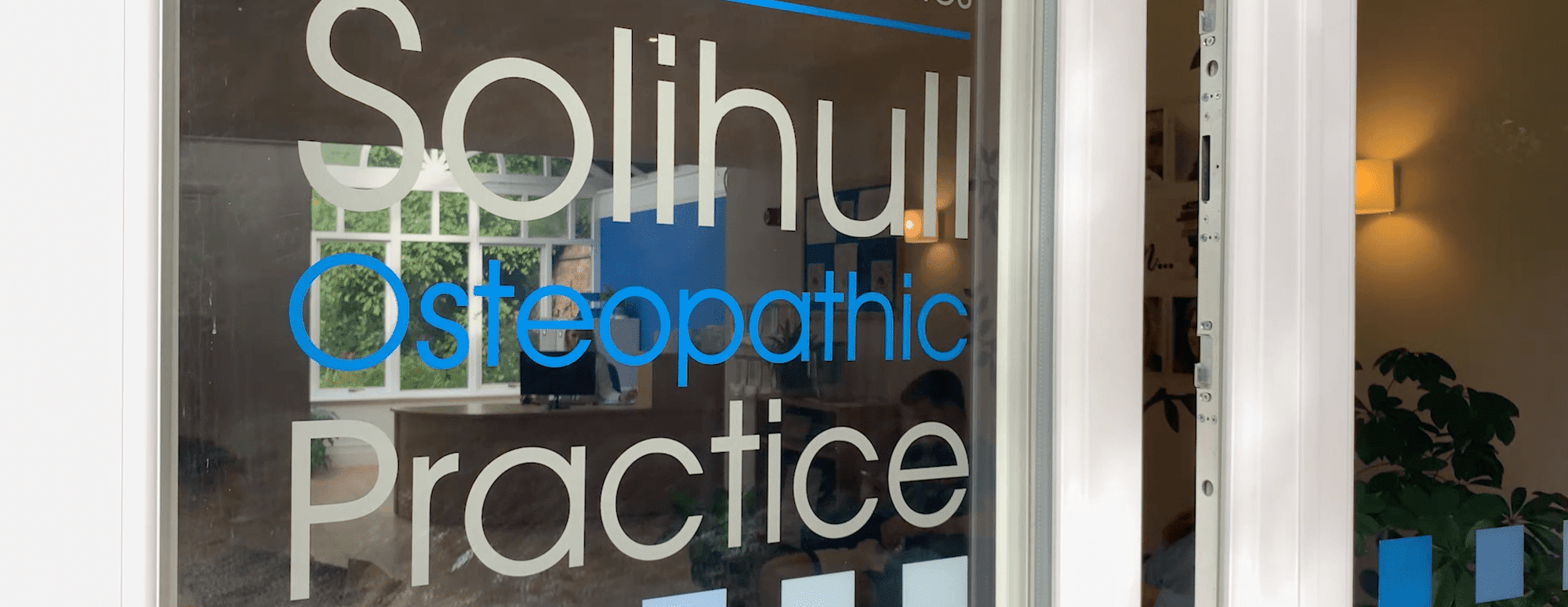 book a solihull osteopath